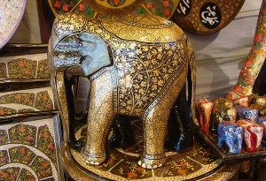 decorated-elephant-indian-art
