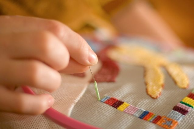 sewing in art and crafts