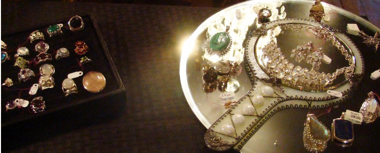 material used in handmade jewelry for women and girls