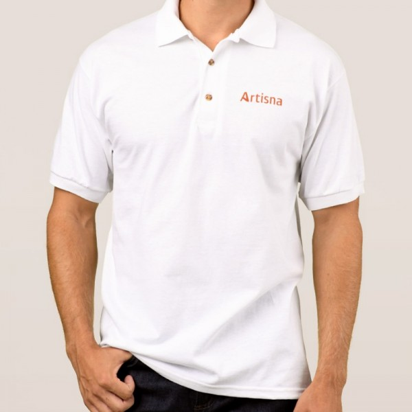 Men's-Gildan-Jersey-Polo-Shirt
